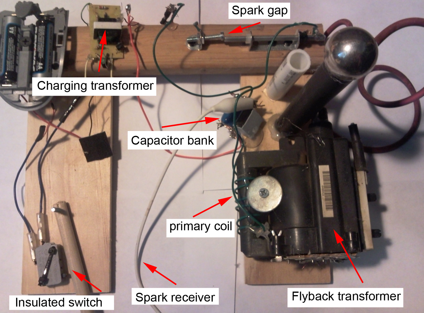 Bank Capacitor Charging Circuit