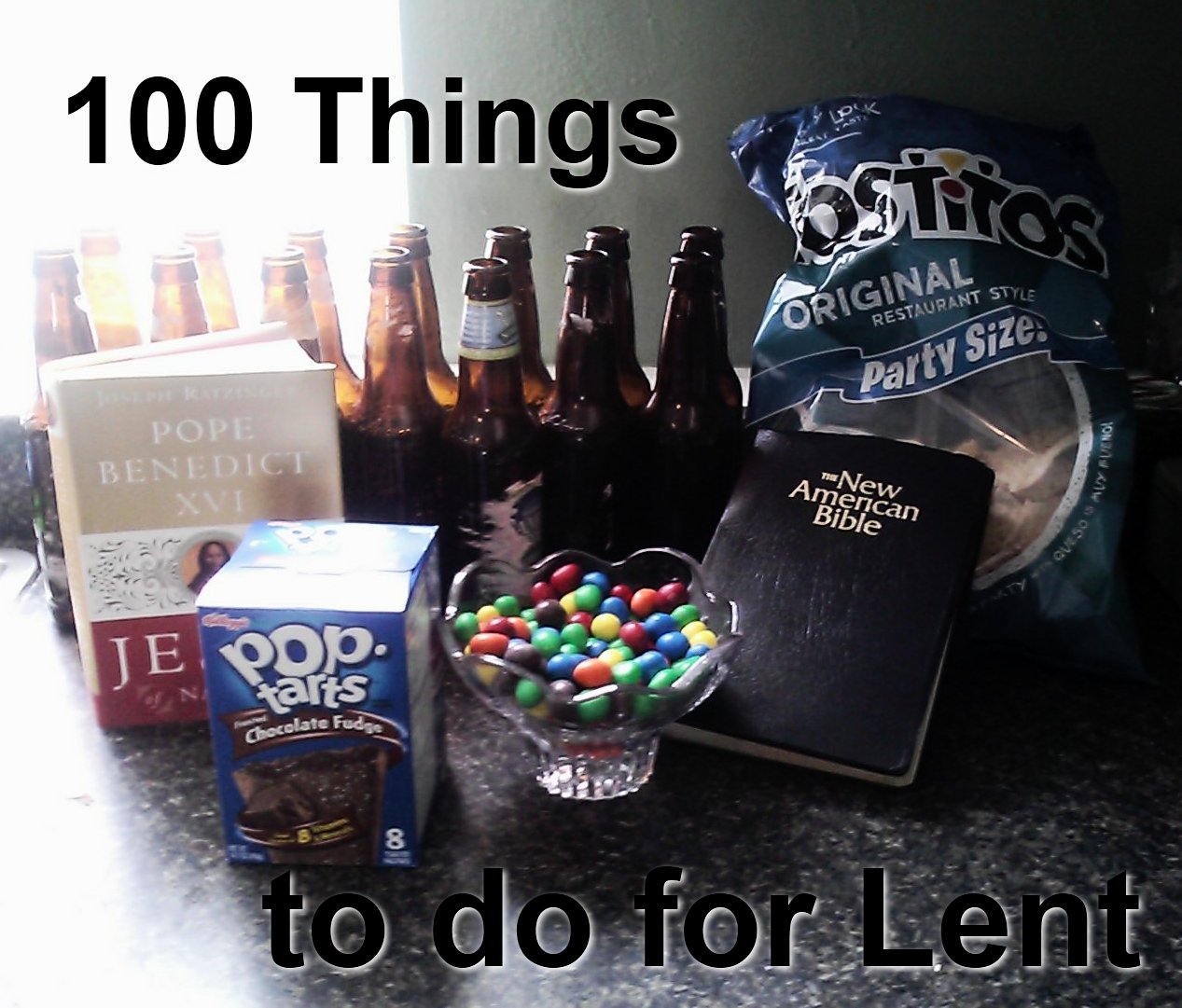 8620e348c86 100 Things to Do for Lent - Held By His Pierced Hands