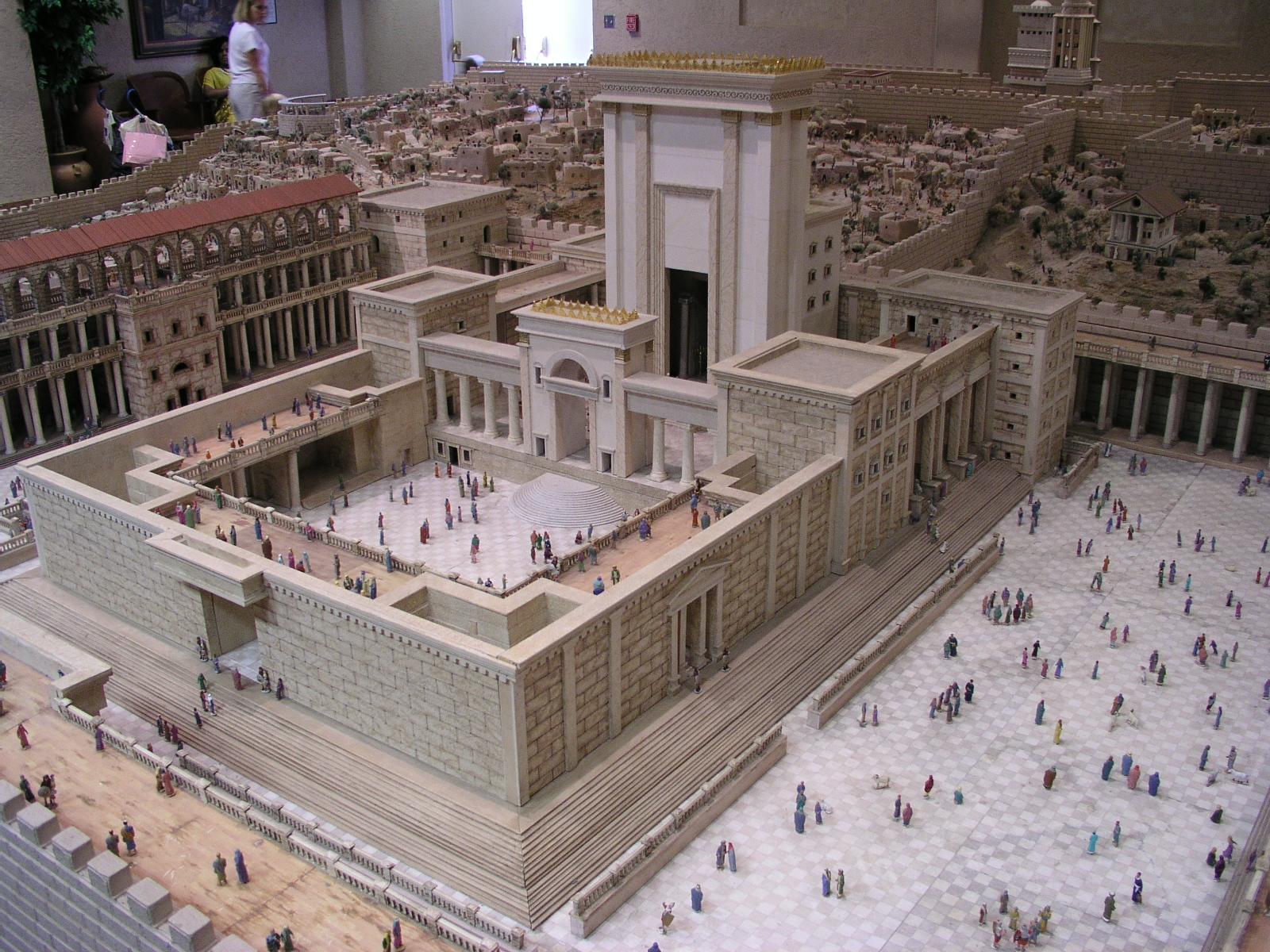 Diagram Solomon's Temple