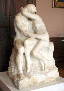Rodin's The Kiss. Too far.