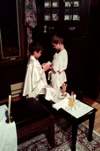 Catholic parenting: you're doing it right.