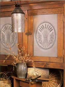Punched Tin Pierced Copper Amp Brass Country Accents