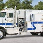 Pierce Peterbilt Commercial Fire Truck Chassis Pierce Mfg