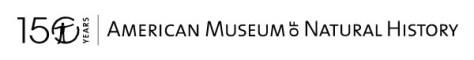 american museum of natural history logo