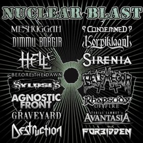 """""""Nuclear Blast Records Sampler"""" by Various Artists"""
