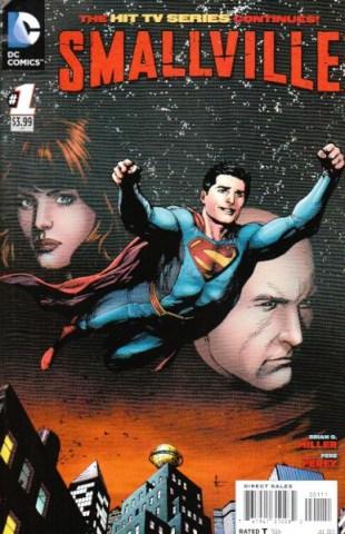 Comic - Smallville S11 - 1