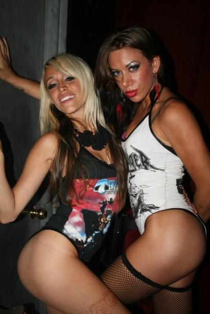 sharon toxic designs, sharon ehman, toxic vision clothing, girls girls girls fashion show
