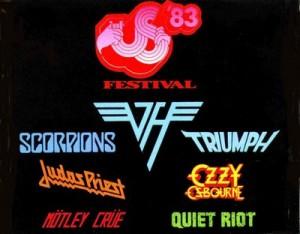 Poster - US Festival 1983 - Metal