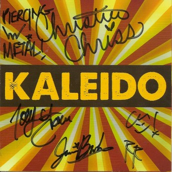 kaleido, kaleido signed cd,