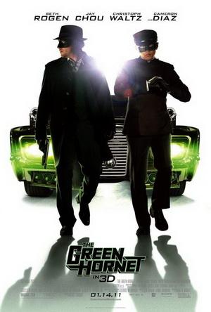 Poster - The Green Hornet - 2011