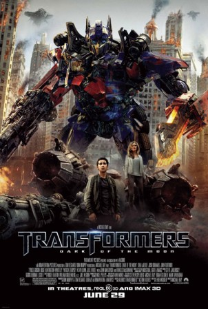Poster - Transformers Dark Of The Moon - 2011