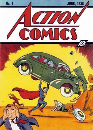 Comic - Action Comics 1