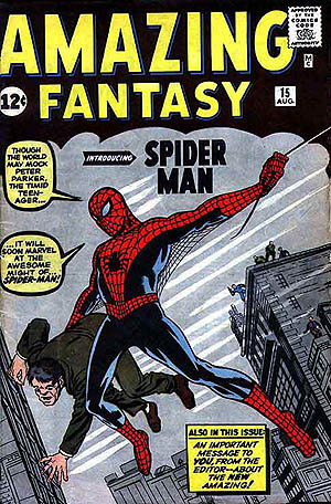 Comic - Amazing Fantasy 15