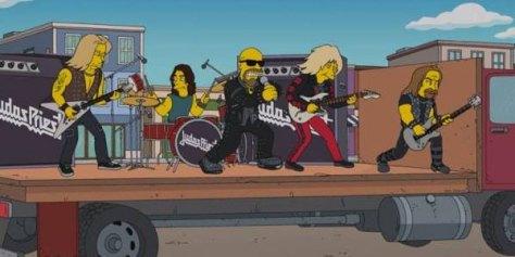Photo - Simpsons Judas Priest - 2014
