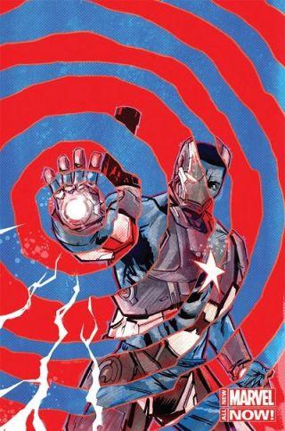 Comic - Iron Patriot - 1
