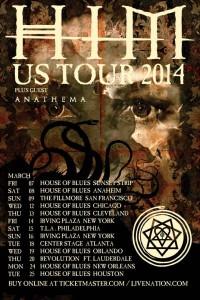 Tour - HIM - 2014 - 2