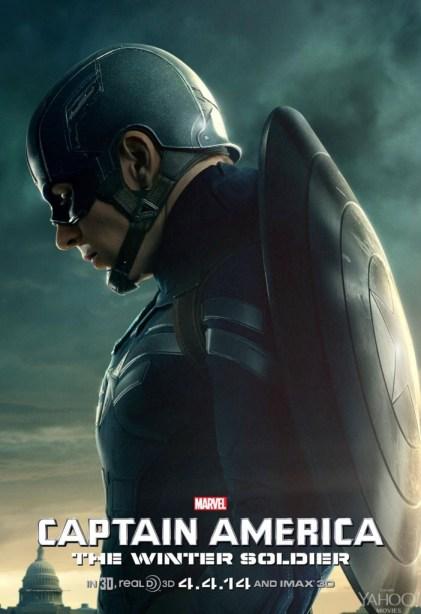 Captain-America-2-Winter-Soldier-Captain America Poster