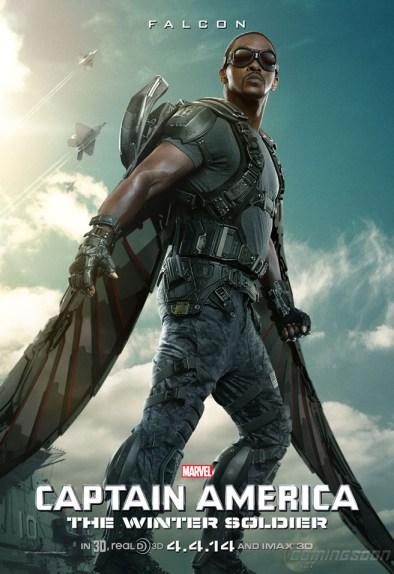 Captain-America-2-Winter-Soldier-Falcon Poster