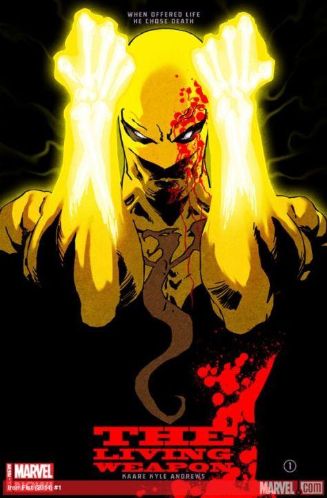 Comic - Iron Fist 1 - 2014