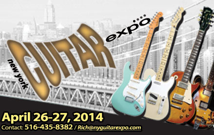 Photo - NY Guitar Show and Expo - 2014