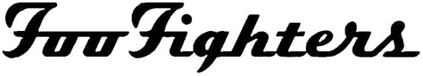 band logos, foo fighters, foo fighters logo