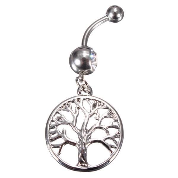 Fashion Göbek Piercing Tree Of Life