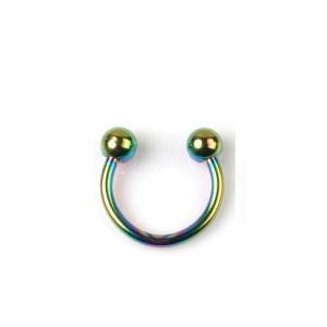 Rainbow Nal Piercing 10mm