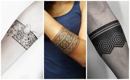 Tatuajes De Pulsera Para Hombres Amazing El Diseo Esta Hecho Con
