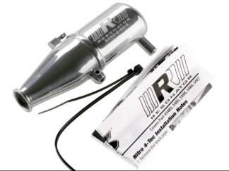 Traxxas - Silenziatore in alluminio