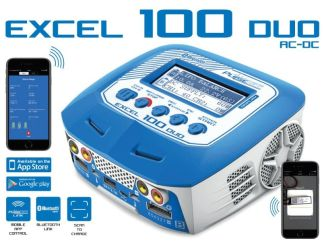 Pulsetech - Caricabatterie EXCEL 100
