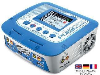 Pulsetech - Caricabatterie Excel 200