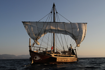 A voyage in time: sailing on a 6th century BCE ship