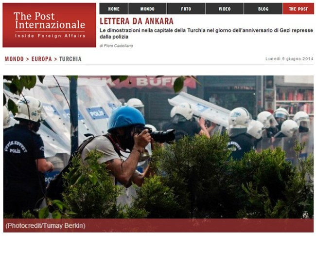 Anniversary of Gezi Protests: Letter from Ankara