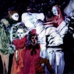 La morte dell'avaro, 1987 olio su tavola, cm 200x180 collezione privata