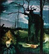 L'alba, 1985 olio su tela, cm 200x150 collezione privata