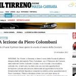 a Lezione da Colombani - il Tirreno