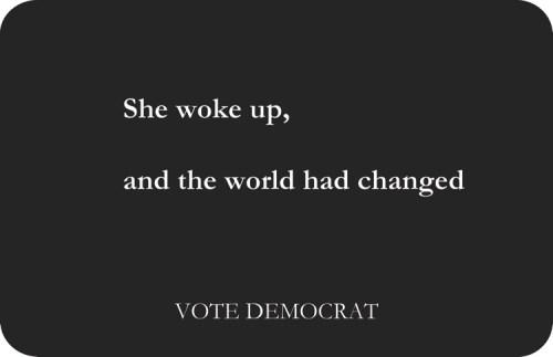 """Michele Alpern - """"She woke up, and the world had changed"""""""