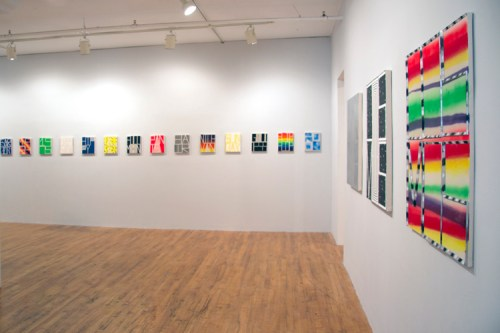 """""""On Any Sunday,"""" Installation view - no description"""