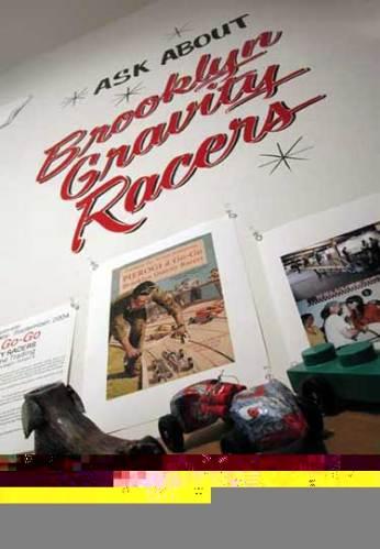Brooklyn Gravity Racers Wall - no description