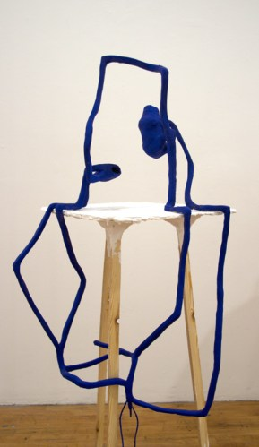 Where's Wendy - 2013-2015, Clay, steel, toy, Approx. 48 x 18 x 23 inches