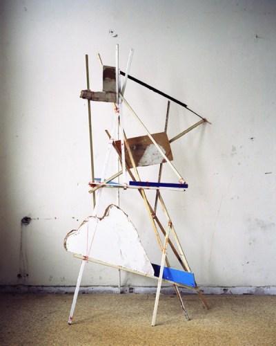 "Nadja Bournonville - ""String Construction,"" 2012, Analog C-Print, 29 x 23.25 inches"