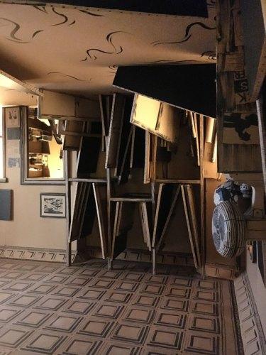 "Tom Burckhardt - ""STUDIO FLOOD,"" Installation view at PIEROGI. September 2017"