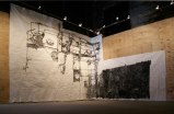 Installation View, Boiler - 2010, Sumi Ink on Paper, 217 x 460 inches