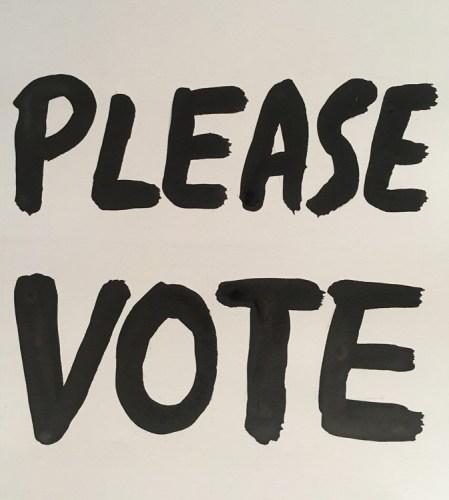 """Dawn Clements (1) - """"PLEASE VOTE"""""""