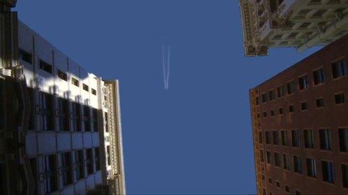 """Kevin Cooley - """"Skyward,"""" (Video Still), 2012, Video Installation, 9:45 Minute"""