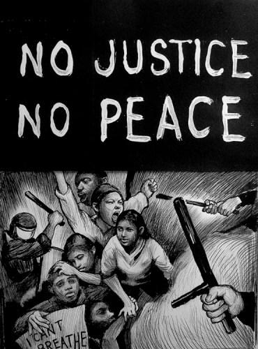 Hugo Crosthwaite - No Justice No Peace