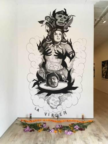 "Hugo Crosthwaite - ""Tijuana Bibles,"" Installation View, October 2018"