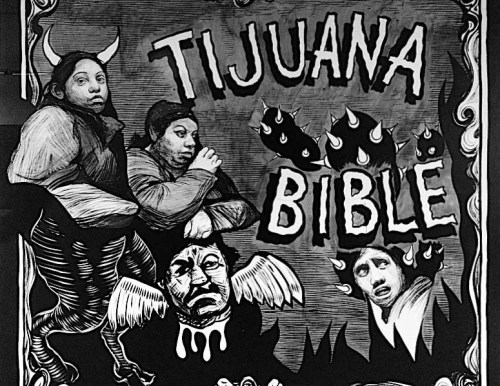"Hugo Crosthwaite - ""Tijuana Bible,"" Mural Installation"