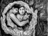 "Hugo Crosthwaite - ""Como Romeo y Julieta,"" (Still) 2021, Stop-motion Drawing Animation, Approx. 4:00 Minutes"
