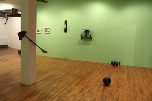 Brian Dewan (Installation view) - no description